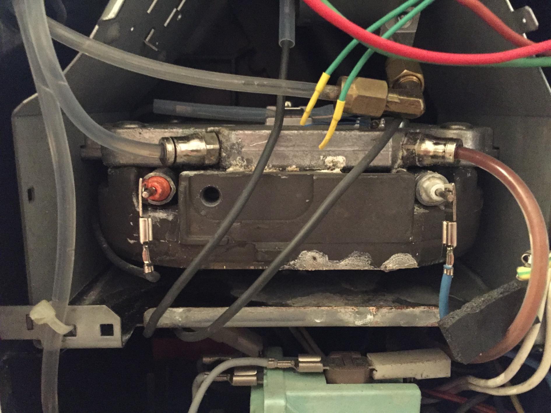 jura impressa s70 legris schlauchverbindung am thermoblock undicht jura reparatur. Black Bedroom Furniture Sets. Home Design Ideas