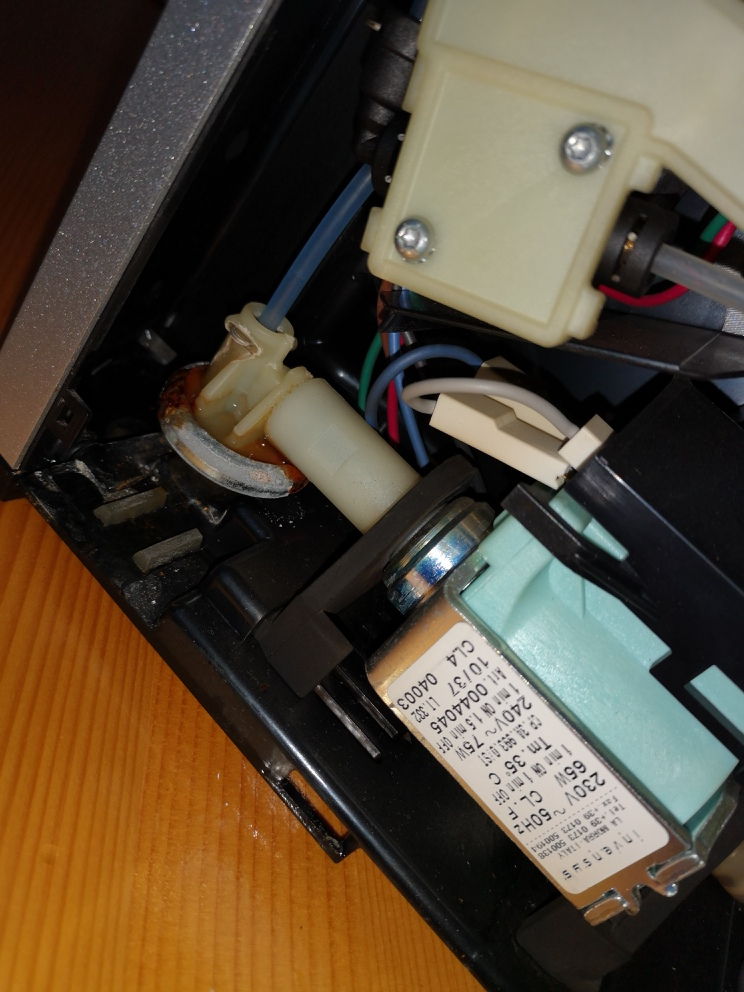 Membranregler V1 für die Pumpe von Bosch Benvenuto Kaffeevollautomaten