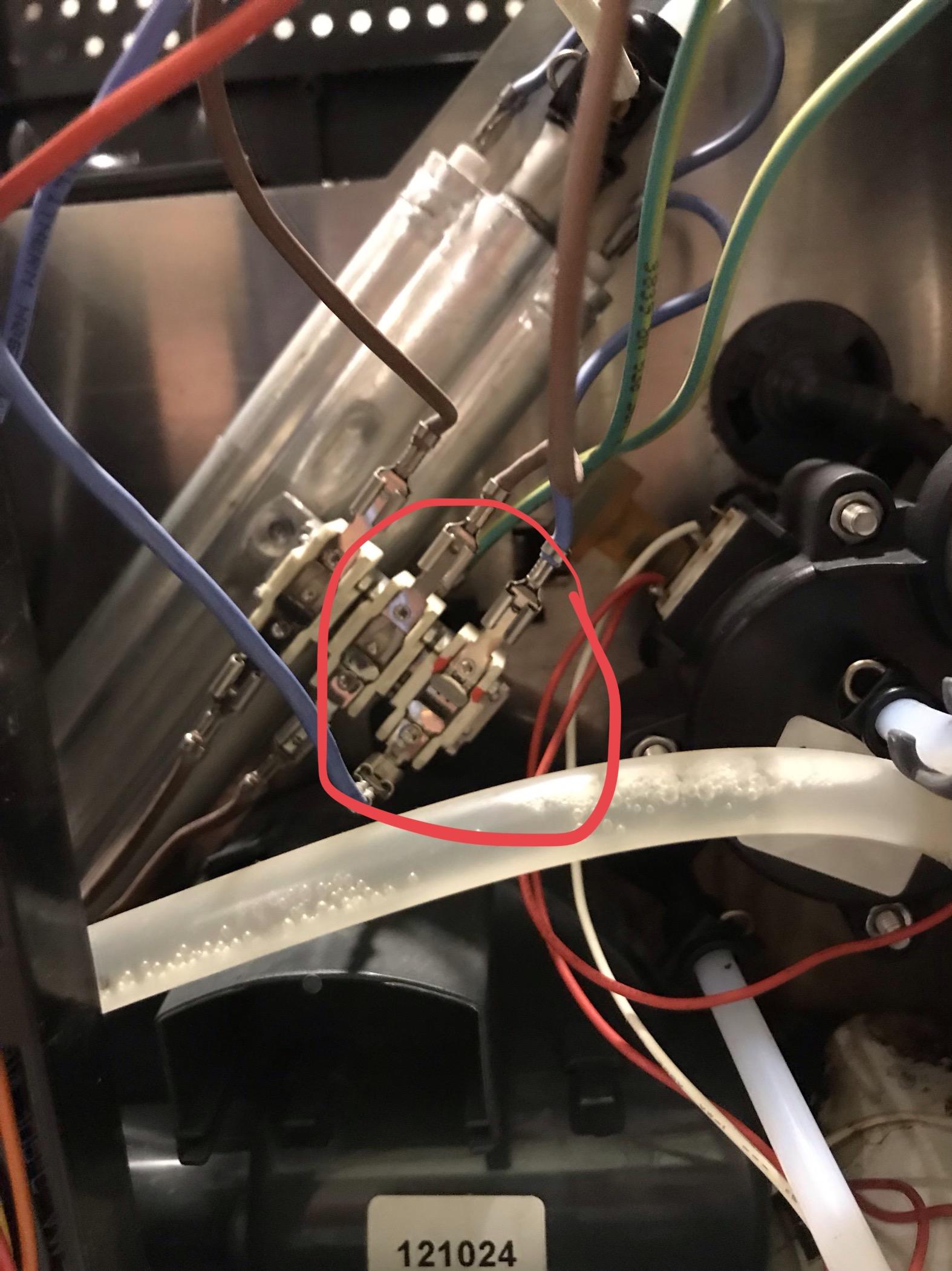 Sehr Neff C77V60N01 - zieht kein Wasser, Temperatur Sicherung defekt SO01
