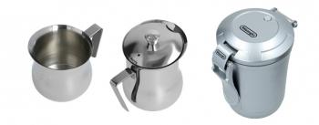 Kaffee- & Milch-Kanne für Kaffeevollautomaten & Siebtröger Geräte