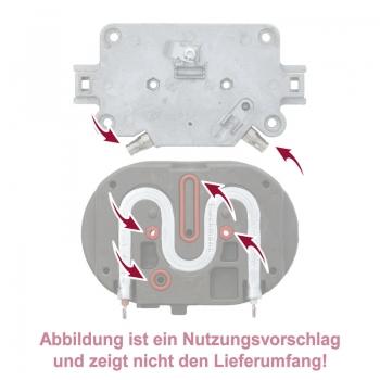 Backofenschalter EGO4207000088 Backofen ORIGINAL Bauknecht 480121100973 6//4,6mmØ