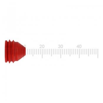 Düse (Rot) zu Schäumerkopf für WMF / Schaerer Kaffeemaschinen