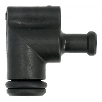 Winkel Schlauchanschluss (V2) zu Schäumerkopf für WMF / Schaerer Kaffeemaschinen