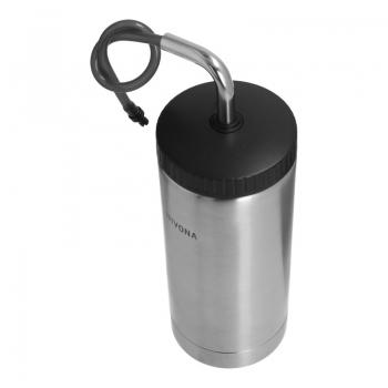 Milchbehälter / Thermo Milchcooler (0,5 Liter / Edelstahl)