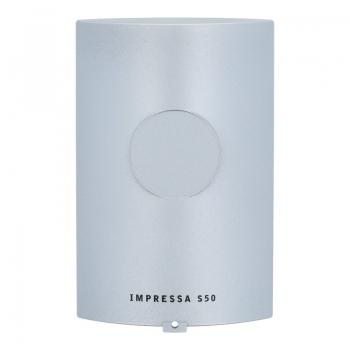 Blende (Silber) für Kaffeeauslauf der Jura Impressa S50 Kaffeevollautomaten