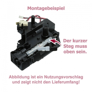 Drainageventil inkl. Feder für Nivona / Siemens / Bosch / Miele / Neff / Melitta / Krups /  Gaggenau Kaffeevollautomaten