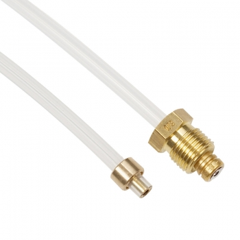 Schlauch FEP (L=128 mm) Einschraubverbindung / Klemmverbindung