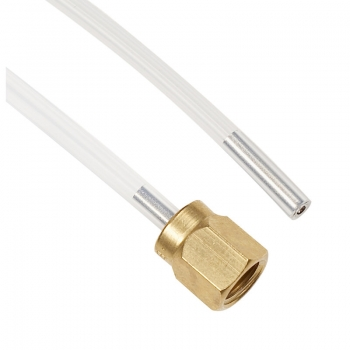 Schlauch FEP (L=250 mm) Schraubverbindung / Steckverbindung
