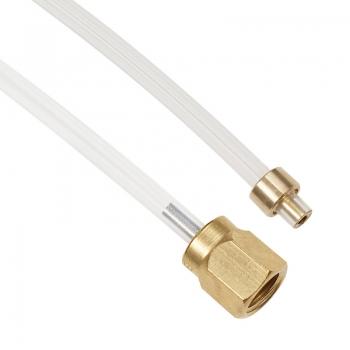 Schlauch FEP (L=380 mm) Schraubverbindung / Klemmverbindung