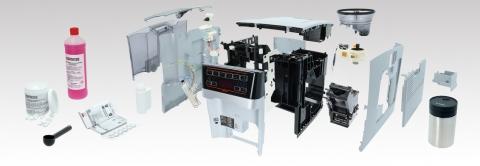 Große Auswahl an Ersatzteilen & Zubehör für Kaffeevollautomaten