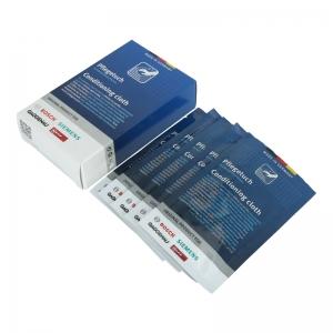 Pflegetücher (5 Stück) für Edelstahloberflächen Original BSH - Quickmill Modell 05500 Super Cappuccino