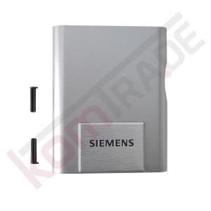 Abdeckung Kaffeeauslauf vorne, titanium für die Siemens EQ.5 MacchiatoPlus