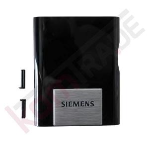 Abdeckung Auslauf vorne in Klavierlack-schwarz für Siemens EQ.5