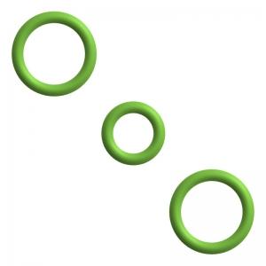 Dichtung / O-Ringe Set für Kupplung Milchaufschäumer - DeLonghi ECAM 23.450.B - Cappuccino