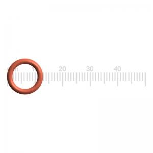 Dichtung / O-Ring am Auslaufstutzen (2) - Saeco SUP034AR Gaggia Platinum Vision