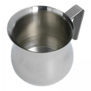 Milchgießer (Edelstahl / 0,2 L) ausreichend für zwei Tassen - Accessoires & Zubehör Kaffee- & Milch-Kanne