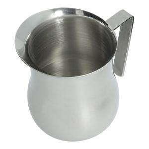 Milchgießer (Edelstahl / 0,6 L) ausreichend für sechs Tassen - Accessoires & Zubehör Kaffee- & Milch-Kanne