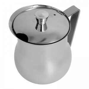 Servierkanne (Edelstahl / 0,6 L) ausreichend für sechs Tasse - Accessoires & Zubehör Kaffee- & Milch-Kanne