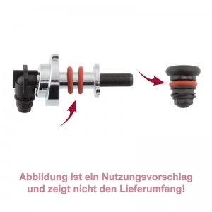 Dichtung / O-Ring für Dampfdüse und Fluid-Anschluss Dampfrohr - Jura N30 Nespresso