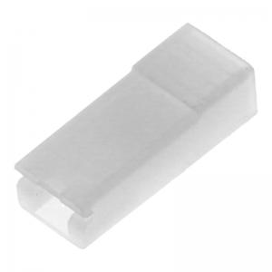 Abdeckung für Flachsteckhülse (4,8mm) - DeLonghi ESAM 5500.R - Perfecta Wurzelholz