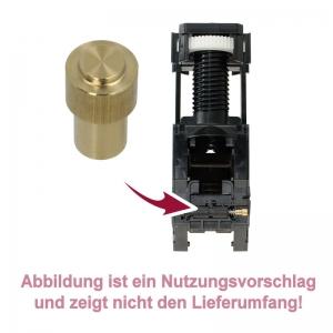 Buchse / Kappe für Ventilstößel im Drainageventil der Brüheinheit