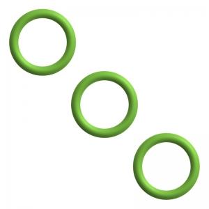 Dichtung / O-Ringe Set für Kupplung Milchaufschäumer - DeLonghi EN 520.B Nespresso Lattissima
