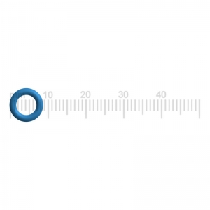 PREMIUM Dichtung / O-Ring (Blau) - DeLonghi EN 550.R - Nespresso Lattissima