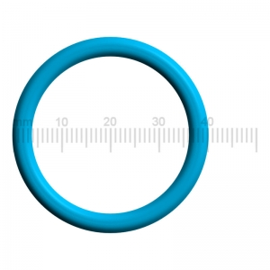 PREMIUM Dichtung / O-Ring für den Kolben der Brüheinheit 0320-40 - Saeco (by Philips) HD5720/30 - One Touch Rot Anthrazit