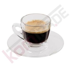 Espressotassen mit Untertasse (Glas / 2er-Set) - Accessoires & Zubehör Tassen & Gläser
