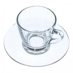 Kaffeetassen mit Untertasse (Glas / 2er-Set) - Accessoires & Zubehör Tassen & Gläser