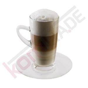 Latte Macchiatotassen mit Untertasse (Glas / 2er-Set) - Accessoires & Zubehör Tassen & Gläser