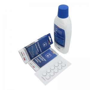 Pflegeset (10 Reinigungstabletten / 0,5 Liter Entkalker) Original BSH - Reinigung & Pflege div. Reinigungs- & Pflegesets