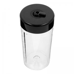 Milchbehälter (Deckel in Schwarz) - Accessoires & Zubehör Kaffee- & Milchbehälter