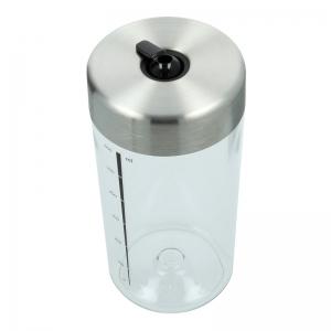 Milchbehälter (Deckel in Silber) - Accessoires & Zubehör Kaffee- & Milchbehälter