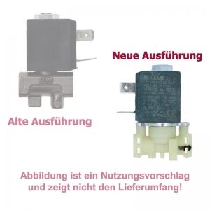 Solenoidventil / Magnetventil (2) - DeLonghi ESAM 5500.R - Perfecta Wurzelholz