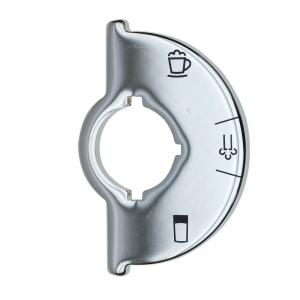 Skalascheibe (Chrom) für Profi Auto Cappuccinatore - Jura XS90 One Touch Impressa