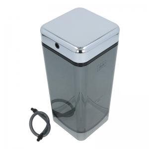 Milchbehälter mit Deckel (Chrom) - Melitta Caffeo Barista F 730 - 101