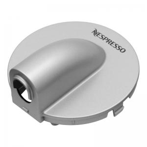 Abdeckung (Silber) für Kaffeeauslauf - DeLonghi EN 170.S Nespresso Prodigio