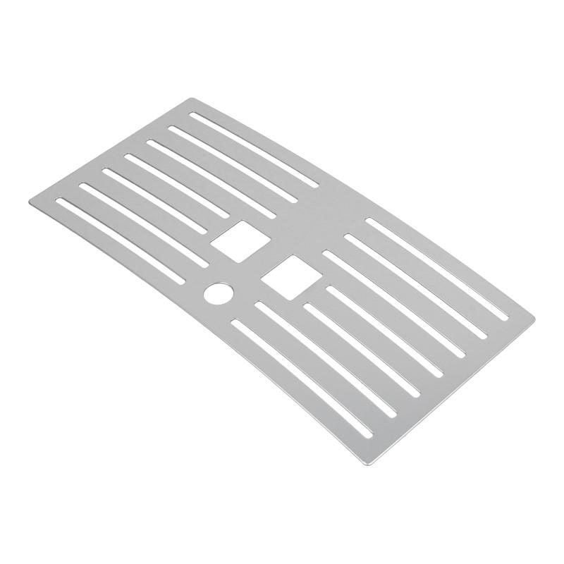 Abtropfgitter Ersatzteile Saeco silber XSMALL