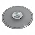 Bohnenbehälterdeckel mit Chromgriff für Siemens EQ und Bosch Vero